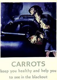 Carrots during World War II
